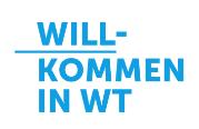 Willkommen in WT Logo